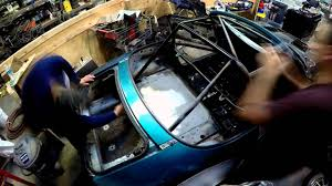interior painting with roll bar and chassis paint youtube