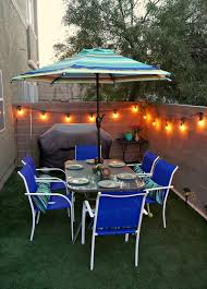 Patio Umbrellas At Lowes by 3 Small Backyard Ideas To Create An Outdoor Oasis