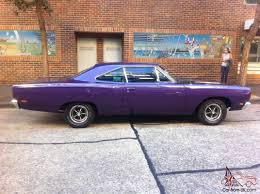 plymouth roadrunner car plum crazy purple in nsw