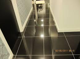 shiny black ceramic floor tile tiles flooring