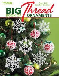 big book of thread ornaments leisurearts