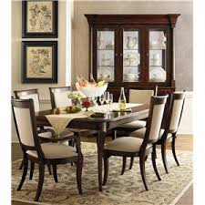 bassett dining room furniture bassett louis philippe rectangular trestle dining table ahfa