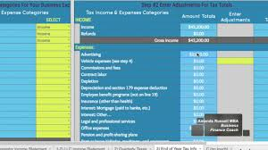 Tax Write Off Spreadsheet Categorizing Business Tax Categories Worksheet 3 V2 Youtube