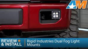2015 f150 led fog lights 2015 2016 f 150 rigid industries dual fog light mounts review