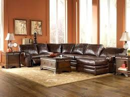 Sofa With Chaise And Recliner by Leather Reclining Sectional Modern Pegasus 5 Piece Power Reclining