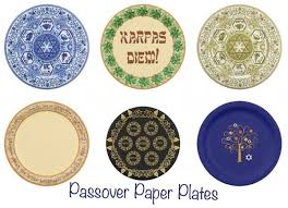 passover paper plates everything passover holidays seder essentials