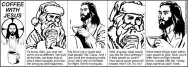 St Nicholas Meme - fear not little flock santa silliness