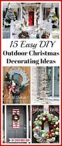 home and garden christmas decorating ideas 25 unique outdoor christmas decorations ideas on pinterest diy
