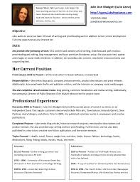 Sample Freelance Writer Resume by Julie Anne Writer For Hire Resume