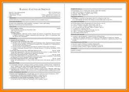 Two Page Resume Examples Of Two Page Resumes Physical Education Resume Sample