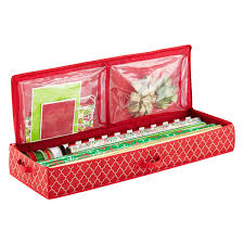 container store christmas wrapping paper wrap tote organizer the container store