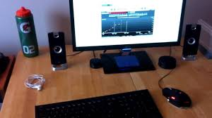 Gaming Setups Clean And Simple Gaming Setup Fall 2012 Youtube