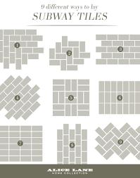 what is subway tile 7 creative subway tile backsplash ideas for your kitchen home