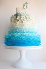 more than 20 teal ombre wedding cake ideas bouquet wedding flower