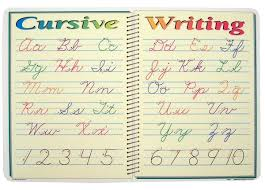 cursive writing placemat 032682 details rainbow resource