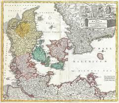 Map Of Denmark File 1730 Homann Map Of Denmark Geographicus Regnidaniae