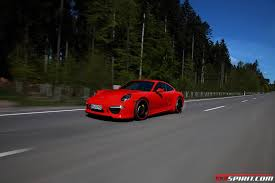 porsche carrera red photo of the day red techart porsche 911 carrera s gtspirit