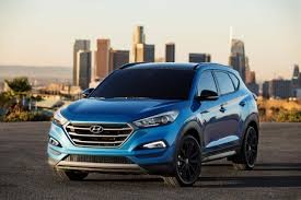hyundai tucson 2016 brown hyundai tucson night edition unveiled at the 2016 sema show