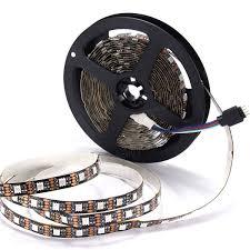 0 5 1 2 3 4 5m smd5050 rgb led strip lamp bar tv back lighting kit