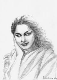 gallery sketch of indian actress drawing art gallery