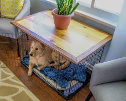 dog crate side table canada protipturbo table decoration