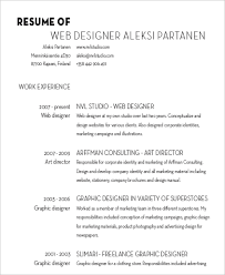 Graphic Designer Resume Samples by Designer Resume Sample 6 Examples In Word Pdf
