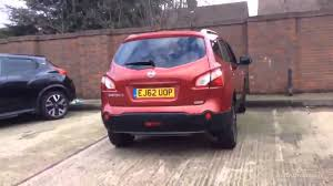 red nissan 2012 nissan qashqai plus 2 n tec plus red 2012 youtube