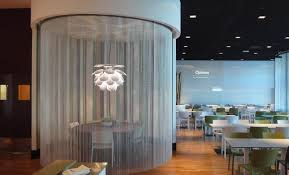 Interiors Made Easy Kriskadecor Curtains In Take Easy Restaurant In Barcelona By Rosa