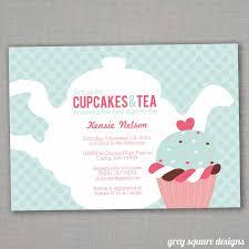 Kitchen Tea Invites Ideas High Tea Baby Shower Invitation Templates Invitation Ideas