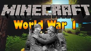 World War One Map by World War 1 Trenches Minecraft Custom Map Custom Textures