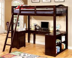 travis twin size study loft bed