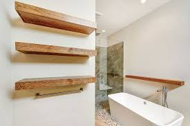 Barn Wood Floating Shelves by Modern Master Bathroom With Frameless Showerdoor By Classic Urban