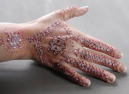 the henna page u0027white henna u0027 gilding glitter and gems the