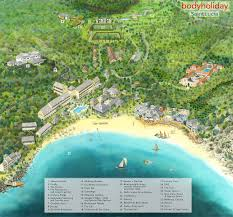 St Lucia Map Map Of St Lucia St Lucia Resorts Le Sports Thebodyholiday