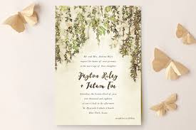 minted wedding invitations countryside wedding invitations by design lotus minted