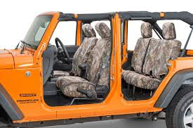 camo jeep yj covercraft carhartt front seatsaver seat protector for 07 18 jeep