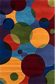 Area Rugs With Circles Amazon Com Momeni Rugs Newwanw 49mti5380 New Wave Collection 100