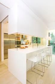 Galley Kitchen Designs Half Open Kitchen Design