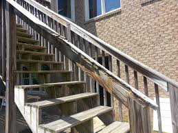 repair deck railing and stairs