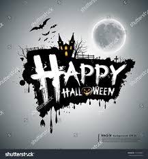 free halloween background eps happy halloween message design background vector stock vector