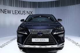 lexus suv blue facelifted lexus nx 300h is a more refined compact suv