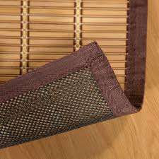 Bamboo Area Rugs Mats Mountain Woven And Panel Bamboo Area Rugs