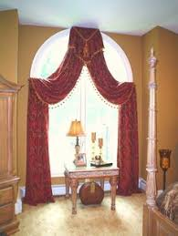 Curtain Designs For Arches Arched Window Treatments Glamorous Curtains For High Arched