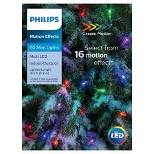 philips 60ct led 16 function mini string lights