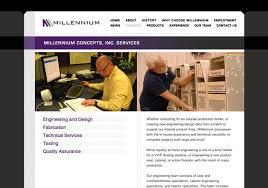 Interior Specialists Inc Millennium Concepts Website Design