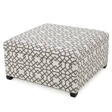 brayden studio trudel fabric storage ottoman u0026 reviews wayfair