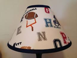 Comenity Pottery Barn Kids Liam Sports Fabric Lamp Shade M2m Pottery Barn Kids Bedding Ebay