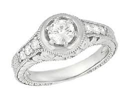 antique engagement ring settings vintage ring mountings semi