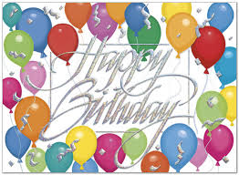 glitter balloons birthday card business birthday cards posty cards