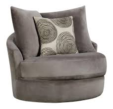 Contemporary Swivel Armchair Swivel Chair With Contemporary Style By Corinthian Wolf And